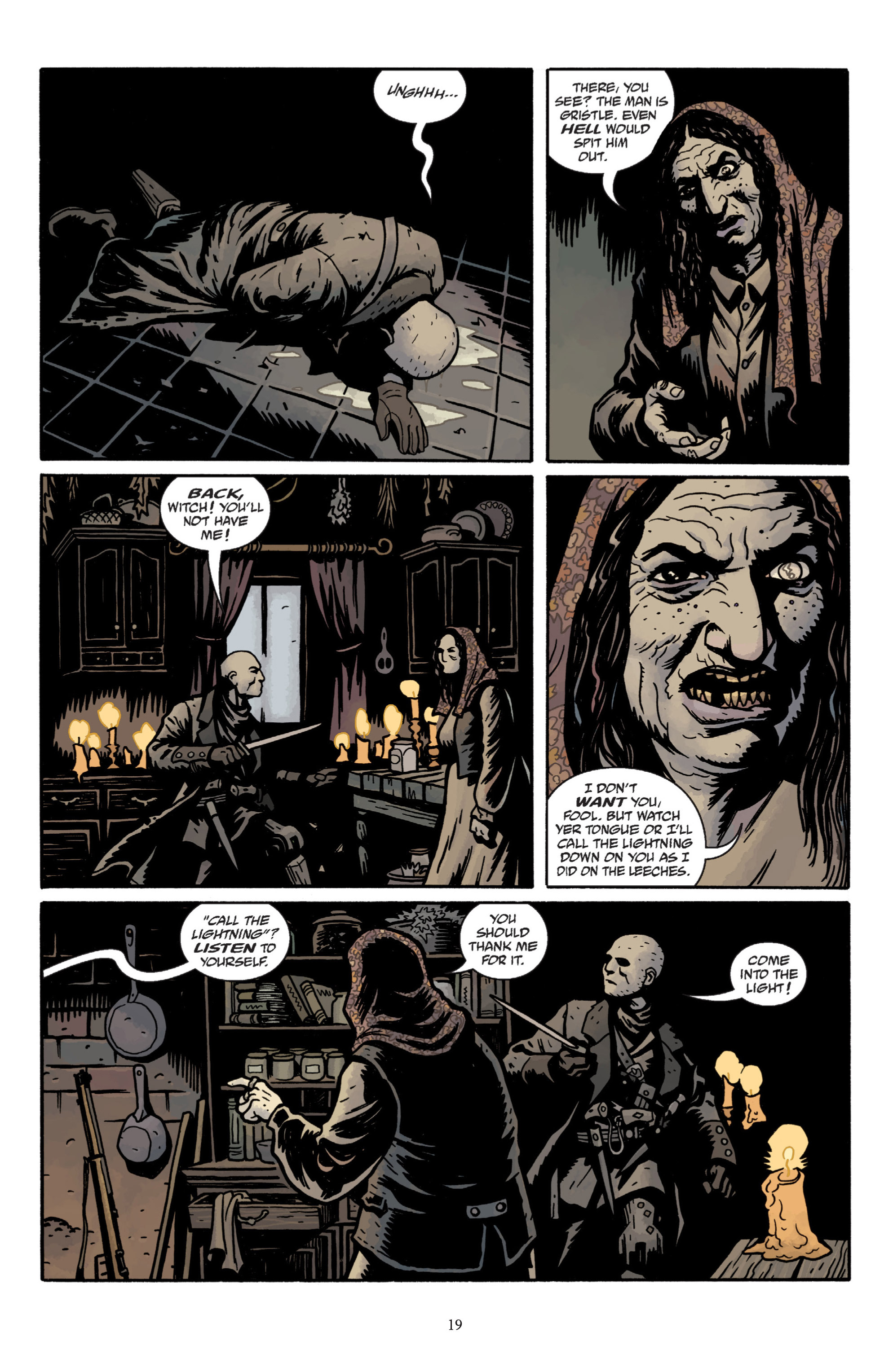Read online Baltimore: The Plague Ships comic -  Issue # TPB - 21