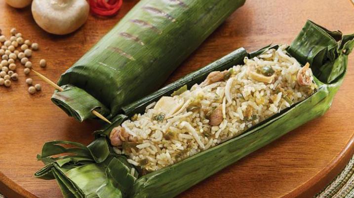 Resep dan cara membuat  Nasi Bakar Isi Ayam & Jamur Ala Angkringan