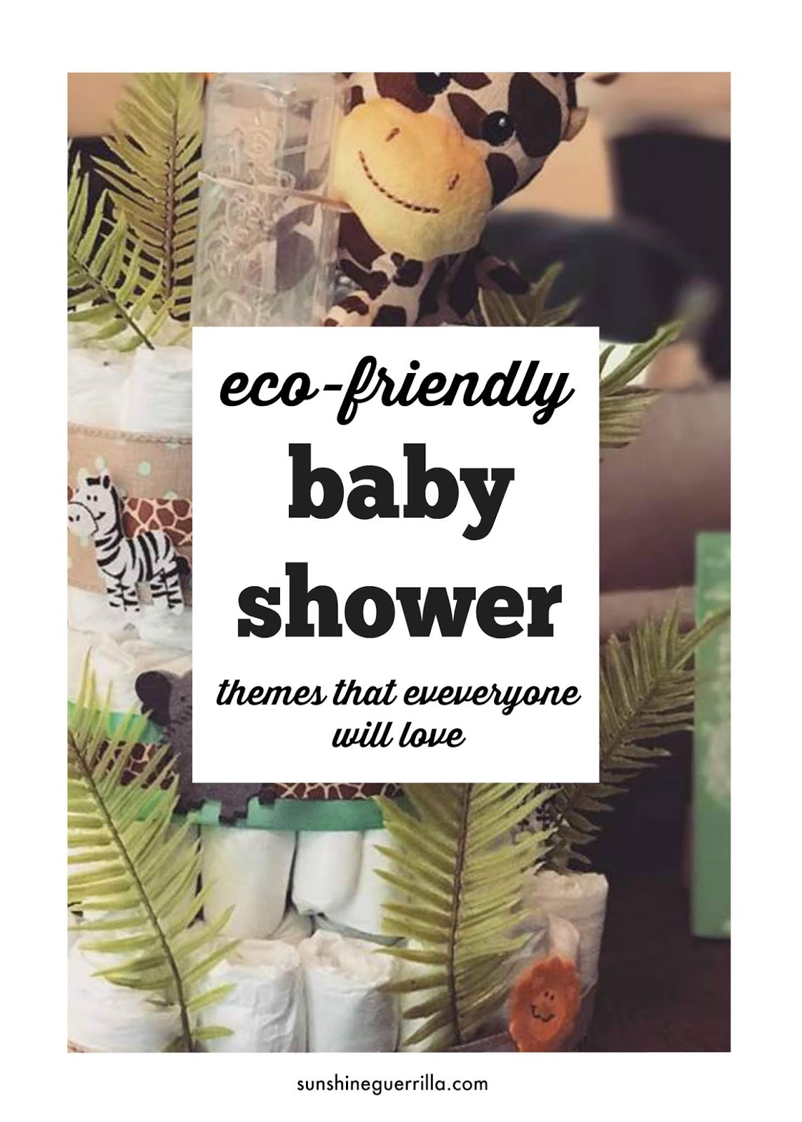 Zero Waste Baby Shower Themes