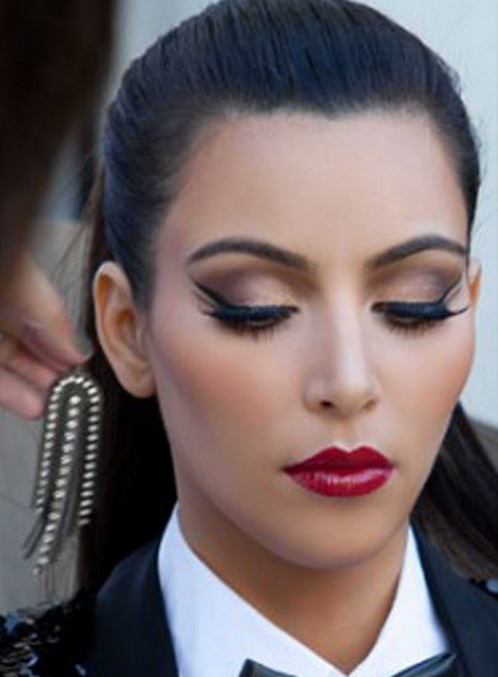 Kim Kardashian Celebrity Makeup Looks Indian Beauty Forever