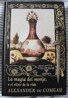 Portada del libro La magia del monje, o el elixir de la vida, de Alexander de Comeau