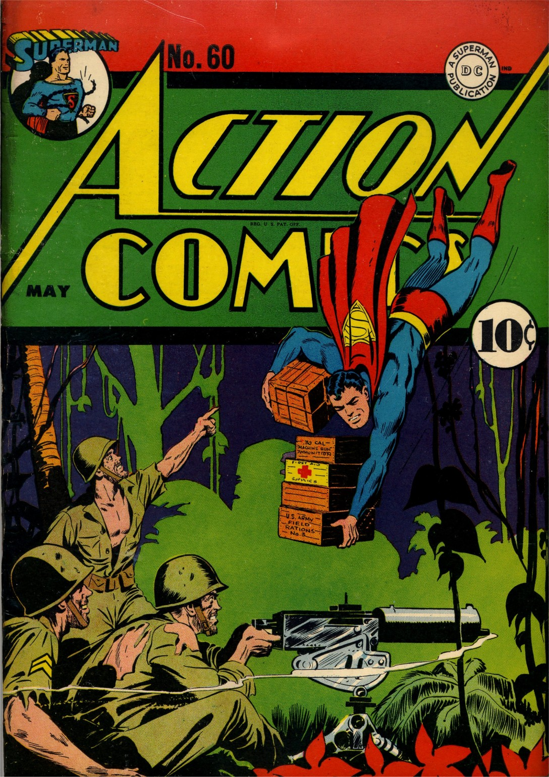 Action Comics (1938) 60 Page 1