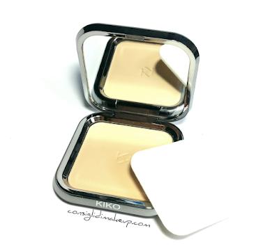 recensioni cipria compatta kiko cosmetics