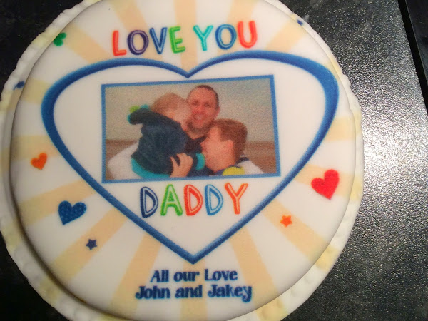 Baker Days Cakes Was a Perfect Gift for Daddy