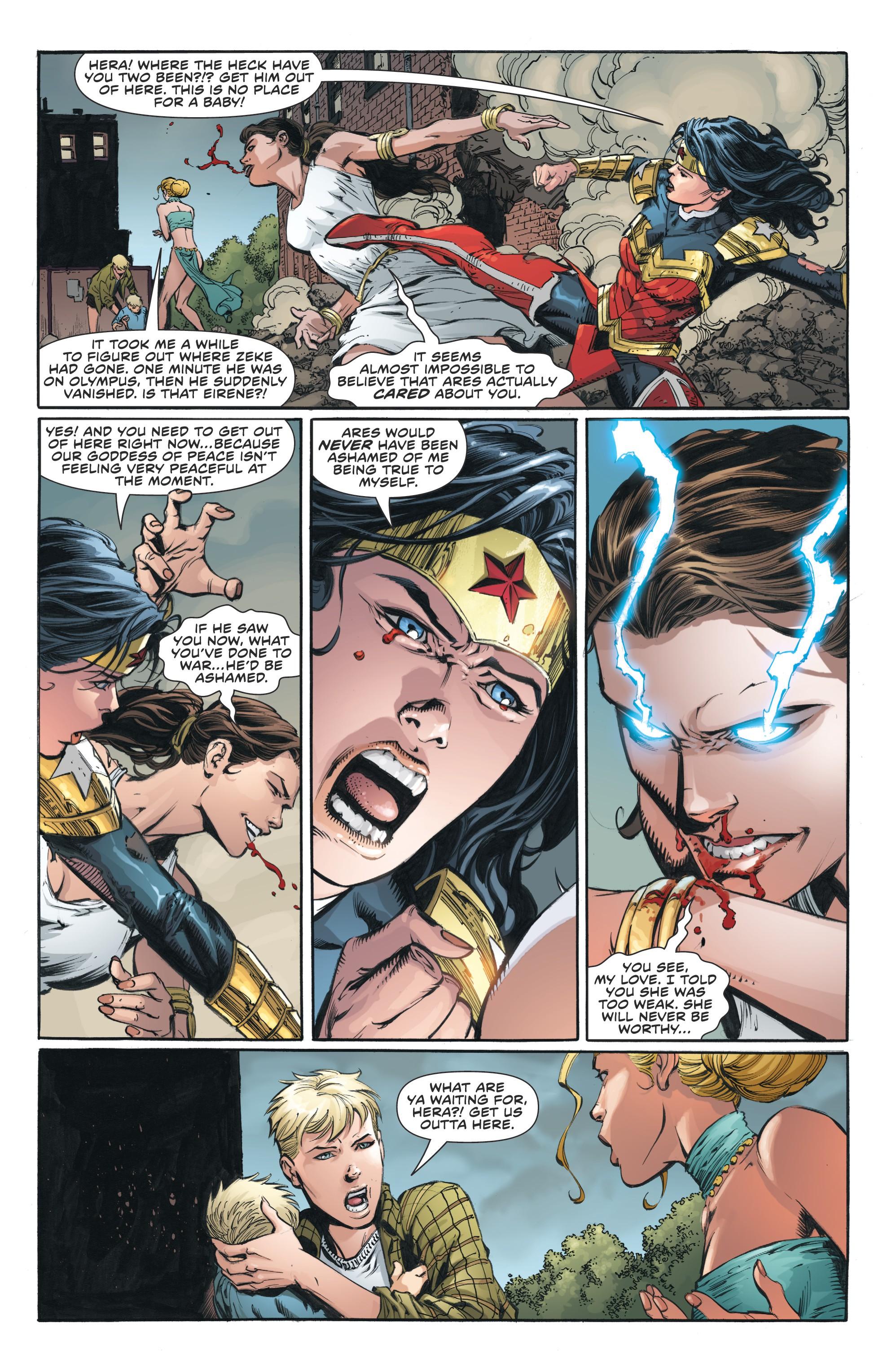Read online Wonder Woman (2011) comic -  Issue #46 - 18