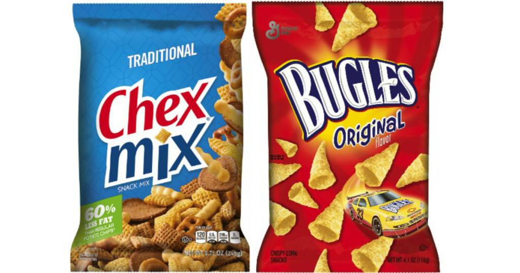 Steward of Savings : Bugles & Chex Snack Mix, ONLY $0 75