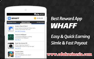 5 Tips&Trik Sukses Dapat Banyak Uang Dollar Dari Aplikasi Whaff Rewards