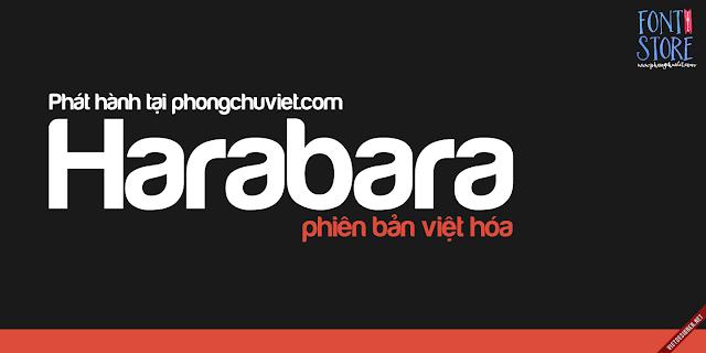 [Sans-serif] FS Harabara Việt hóa