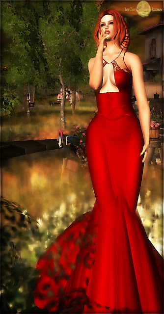 ╰☆╮Rose gown by Tiffany Designs╰☆╮