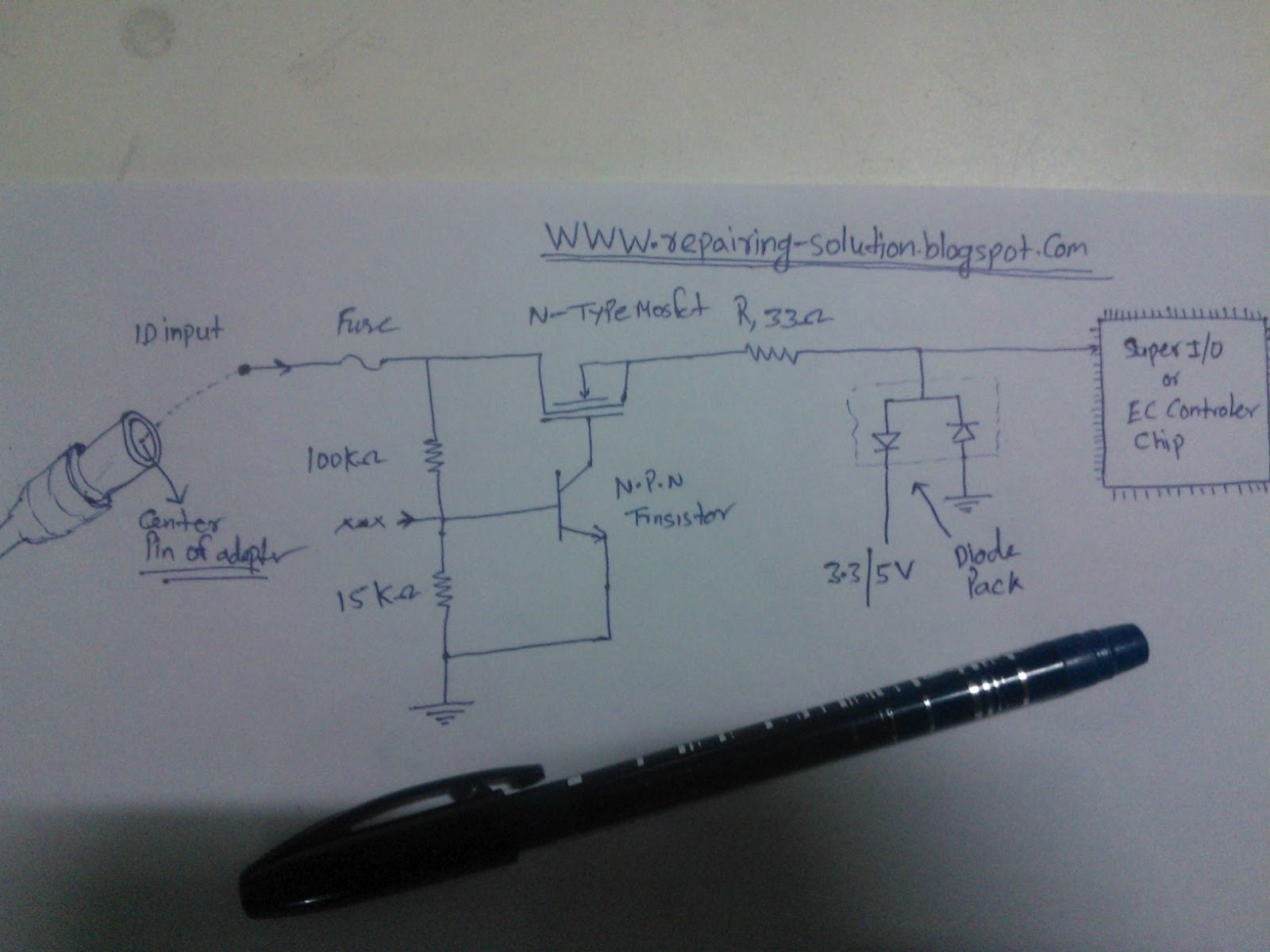 Dell Laptop Charger Wiring Diagram 34 Images Battery Circuit All Repairing Solution How To Fix If Not Charging Section