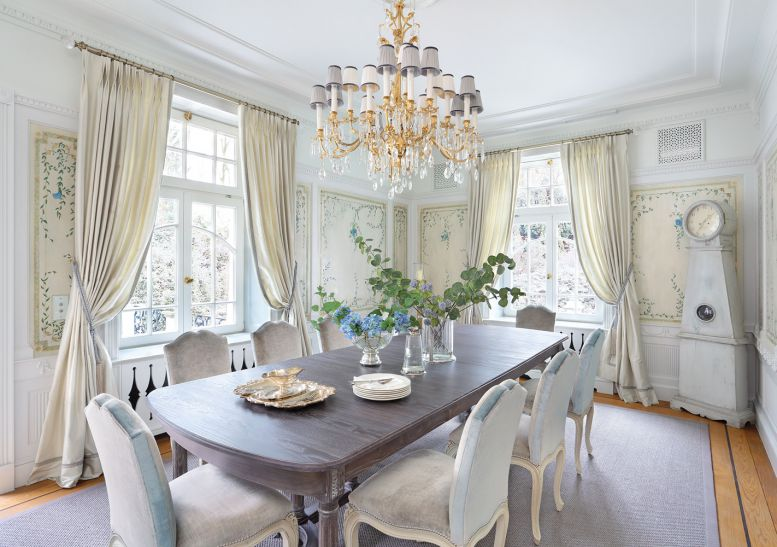 Dining room : The House in the English Style