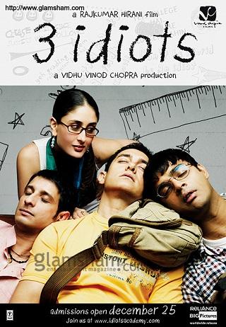 3 Idiots 2009 Hindi Full Movie Download 450MB BluRay 480p