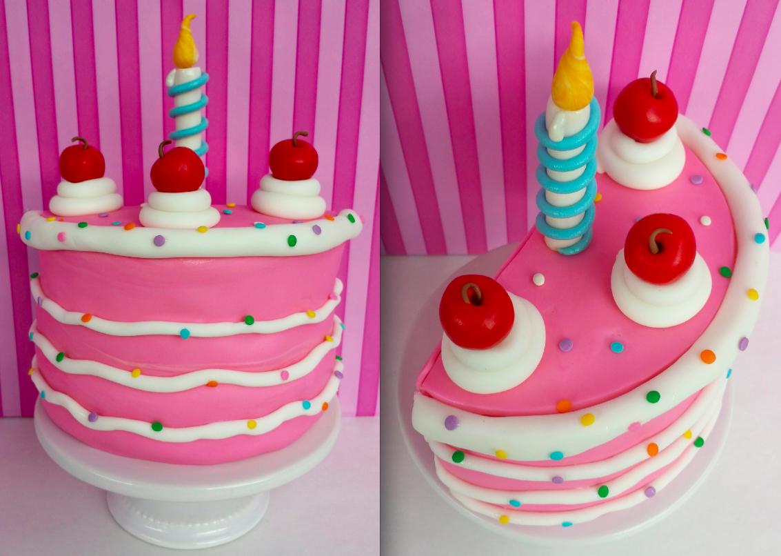 Cake Blog Half Birthday Cartoon Cake