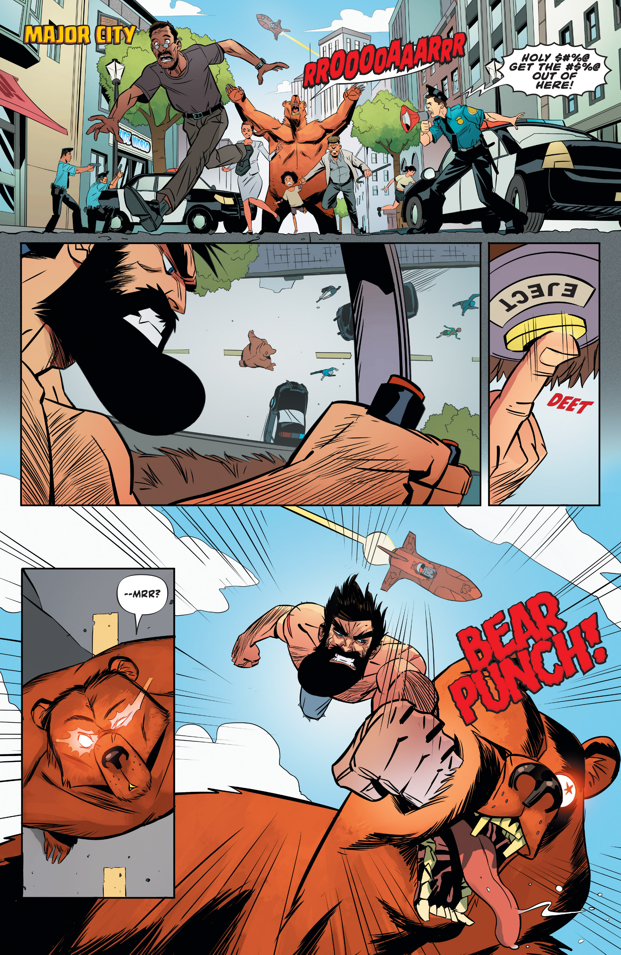 Read online Shirtless Bear-Fighter! comic -  Issue #1 - 25