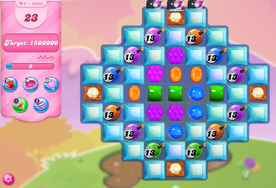 Candy Crush Saga level 5034