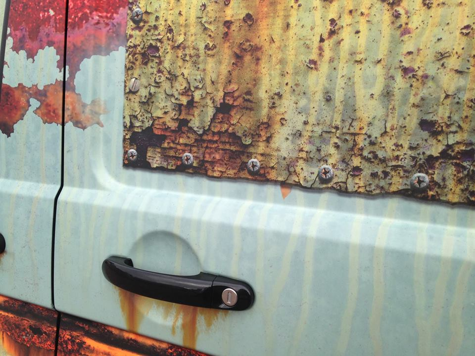 03-Clyde Wraps-Car-Vinyl-Wrap-with-the-Rust-Treatment-www-designstack-co