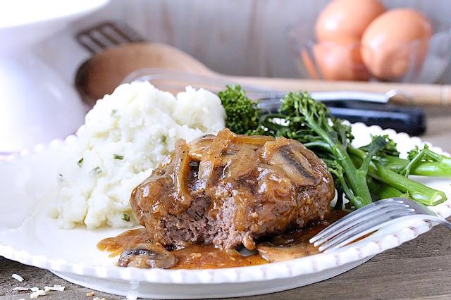 Beer-Braised Salisbury Steak