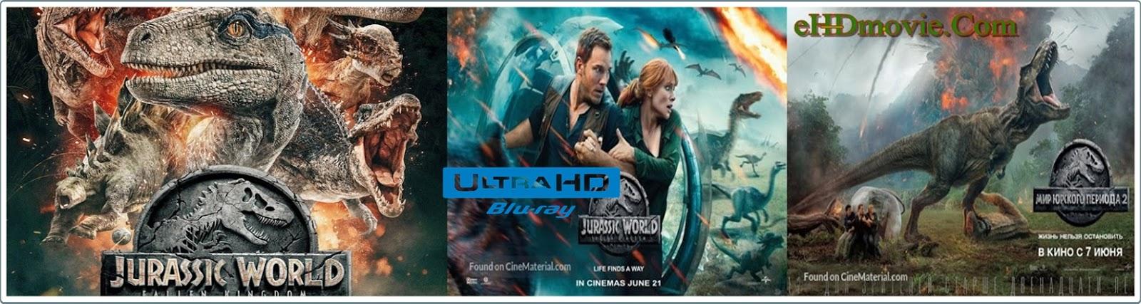 Jurassic World Fallen Kingdom 2018 Full Movie Dual Audio [Hindi – English] 1080p - 720p - HEVC - 480p ORG BRRip 400MB - 600MB - 1.1GB - 3GB ESubs Free Download