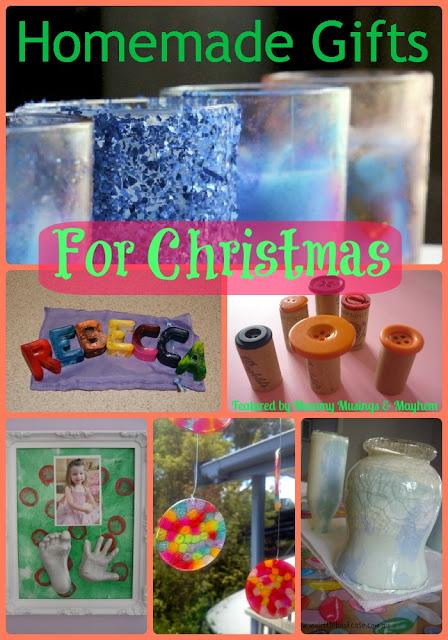 Homemade Gifts for Kids Christmas