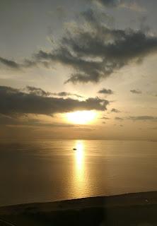 東京湾の夕日 Tokyo Bay  Sunset