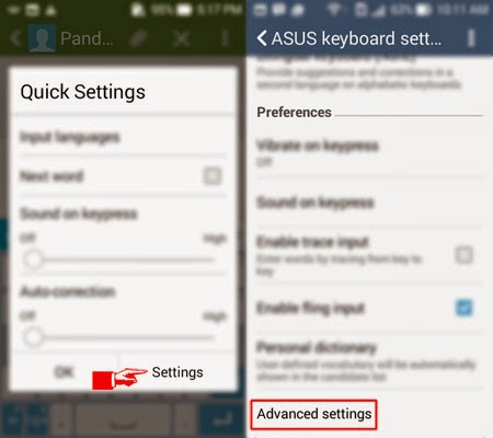 How To Hide Word Suggestion On Asus Keyboard