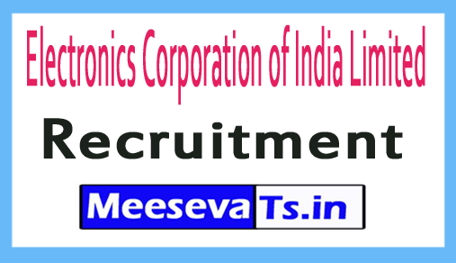 Electronics Corporation of India Limited ECIL Recruitment Notification