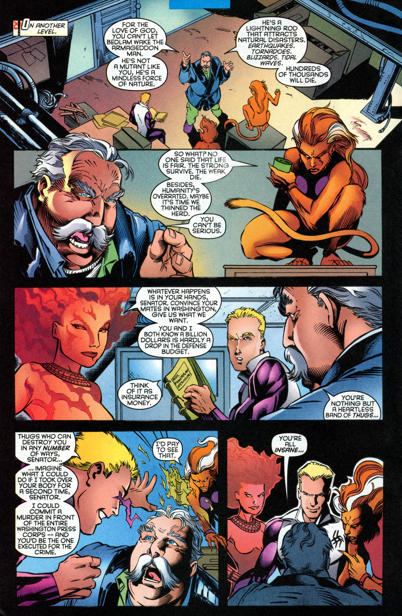 Read online X-Force (1991) comic -  Issue #89 - 21