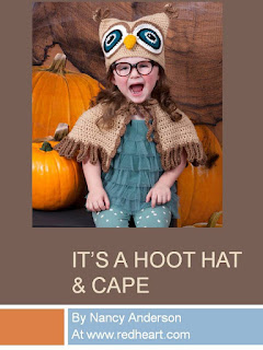 http://www.redheart.com/free-patterns/its-hoot-owl-hat-cape