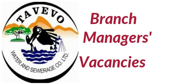 2019 Tavevo Water and Sewerage company branch managers job vacancies
