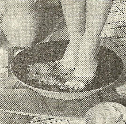 Прием лечебных ванн только для рук и ног. Продолжительность приема.