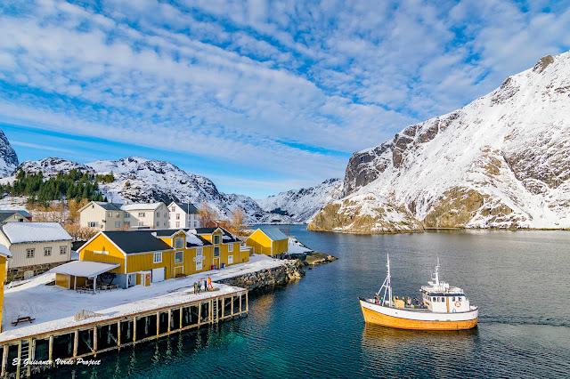 Nusfjord en Lofoten, por El Guisante Verde Project
