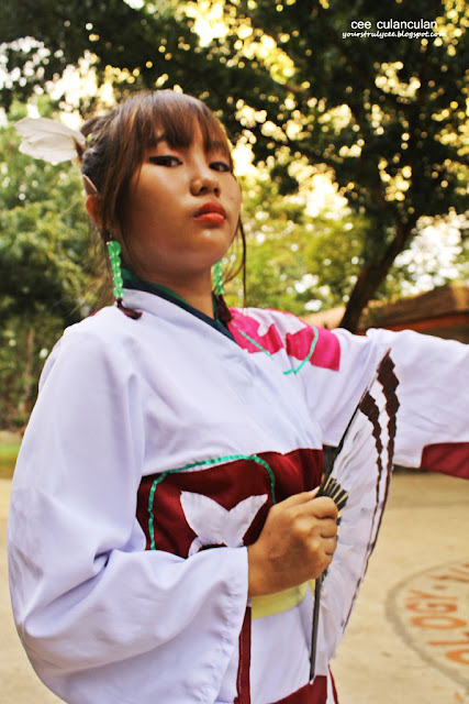Kagura Cosplay of Inu Yasha