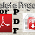 how to delete any page of PDF
