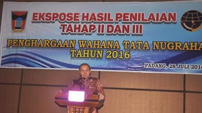 Pemko Padang Optimis Raih WTN 2016