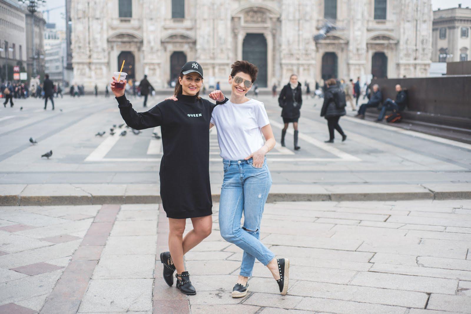 Majówka w Mediolanie * ponad 10 casualowych, wygodnych stylizacji
