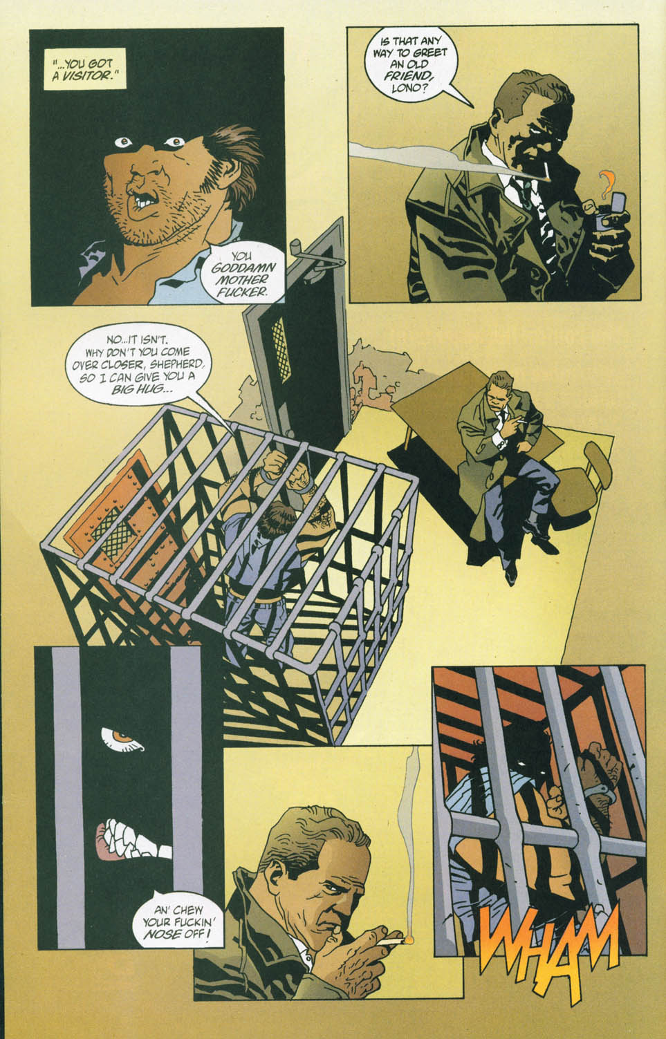 Read online 100 Bullets comic -  Issue #45 - 18