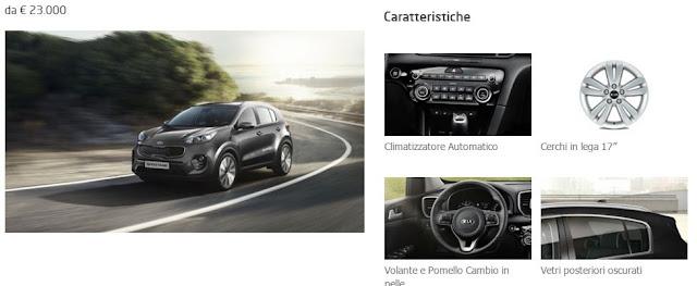 KIA Sportage Cool: Optional e Prezzi di questo allestimento del SUV coreano