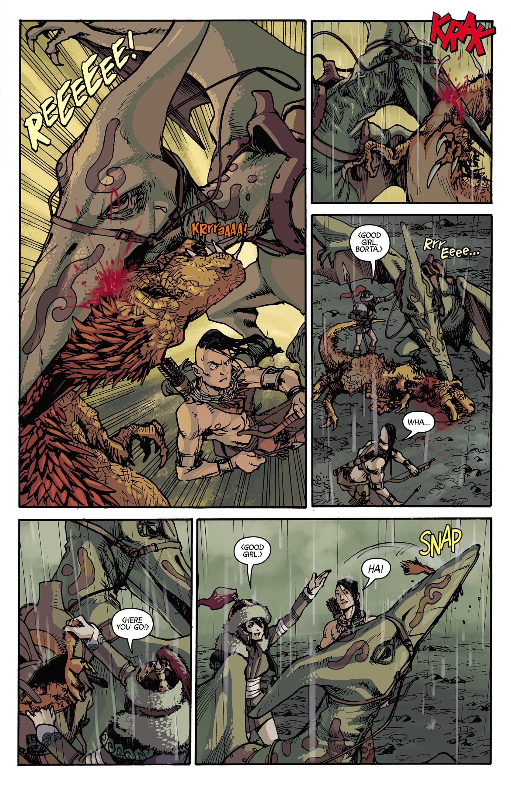 Read online Turok: Dinosaur Hunter (2014) comic -  Issue #5 - 11