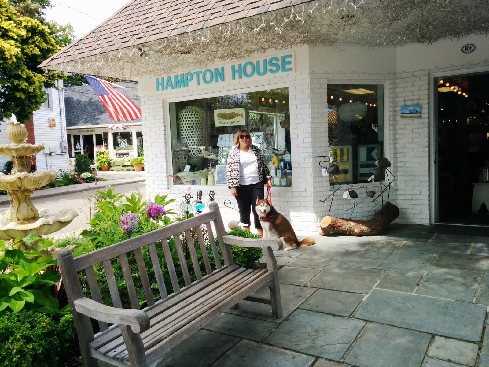 Shopping in The Hamptons, Long Island NY is pricey but you can score great deals in the Fall