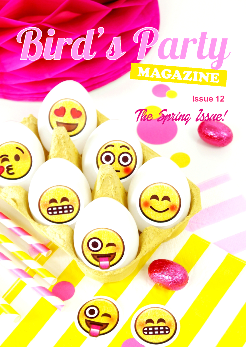 Bird's Party Ideas Magazine | Spring Issue 12 Out Now - BirdsParty.com