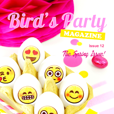 Bird's Party Ideas Magazine | Spring Issue 12 Out Now