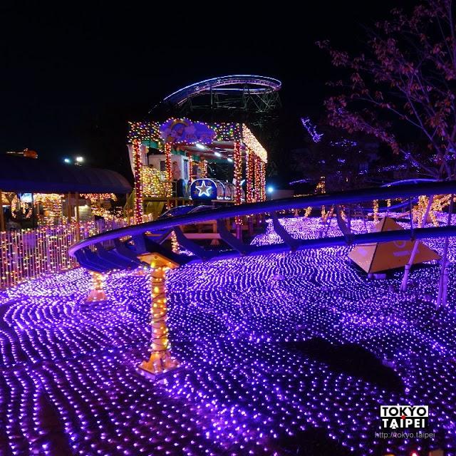 【讀賣樂園】華麗好玩又浪漫 冬訪首都圈最大燈節