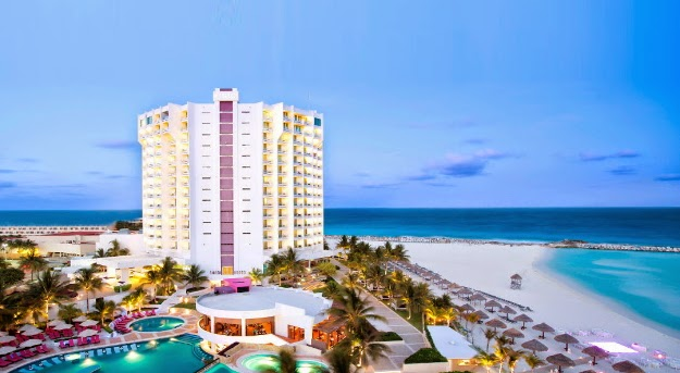 Tucked Away In The Premier Punta Cancun Hotel Zone New Krystal Grand Formerly A Hyatt Debuts As S Can T Miss Beach Resort