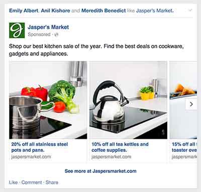 contoh iklan korsel facebook