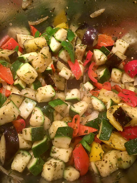 Var dags gröna mat - Ratatouille,och vad du kan göra med den!