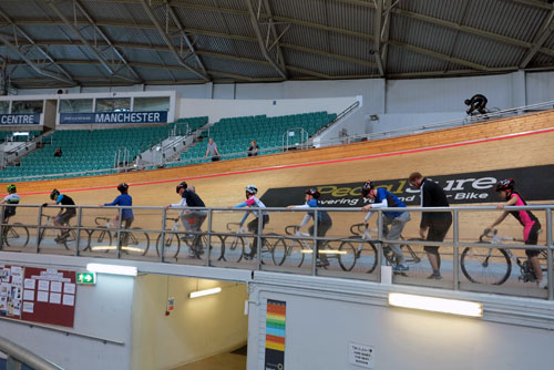 National Cycling Centre, Manchester, UK.