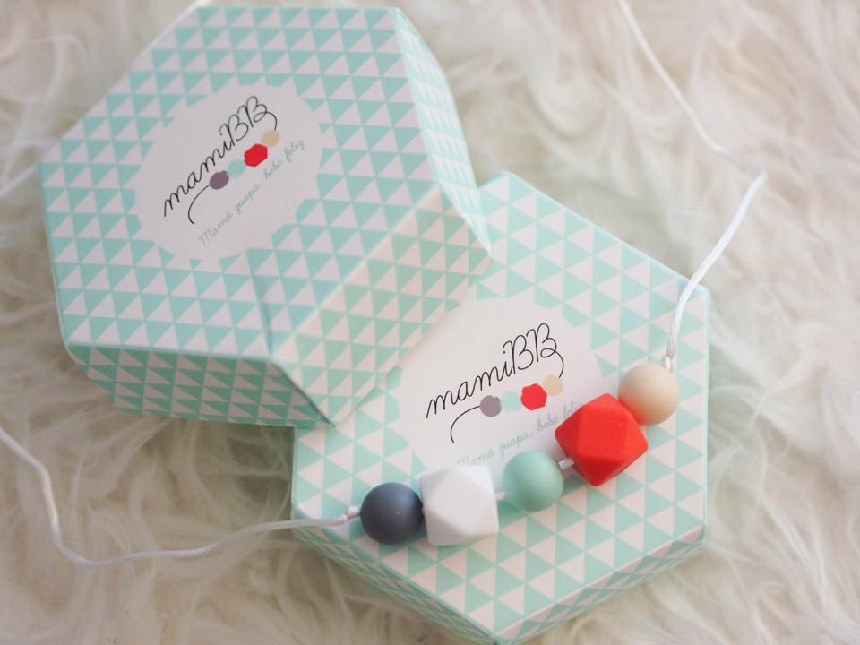 Maternité: collier d'allaitement/dentition II