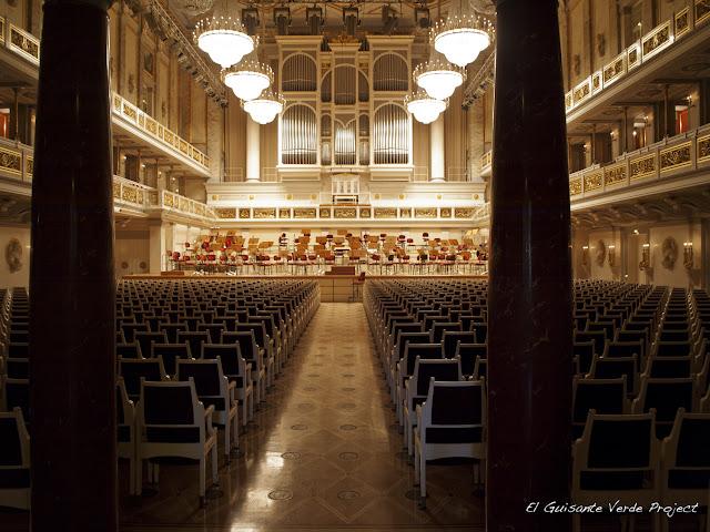 Konzerthaus Berlin, interior, por El Guisante Verde Project