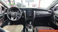 So sánh Toyota Fortuner với Hyundai Santafe ở bản máy dầu, 2 cầu, số tự động ảnh 6