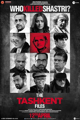 Poster The Tashkent Files 2019 Hindi HD 720p